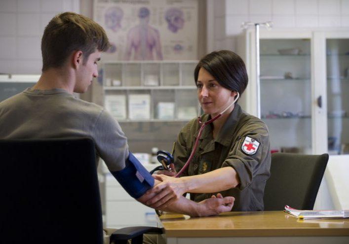 Ärztin beim Bundesheer